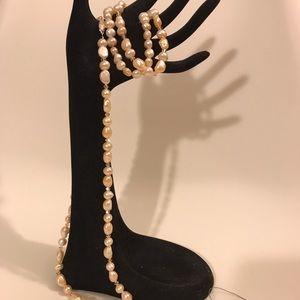 Jewelry - Genuine South Sea Baroque Pearl Necklace/Bracelet